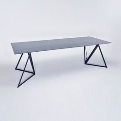 Loop Table - jet black | Dining tables | NEO/CRAFT