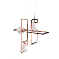 Link I Suspension Lamp | Pendelleuchten | Mambo Unlimited Ideas
