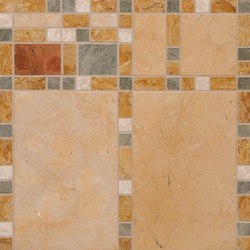 Marble Mosaics | Boogie Woogie Bass | Natural stone tiles | Tango Tile