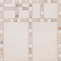 Marble Mosaics | Boogie Woogie Ivories | Natural stone tiles | Tango Tile