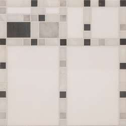 Marble Mosaics | Boogie Woogie Clarinet | Natural stone tiles | Tango Tile