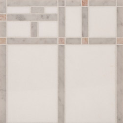 Marble Mosaics | Boogie Woogie 2 Saxophone | Natural stone tiles | Tango Tile