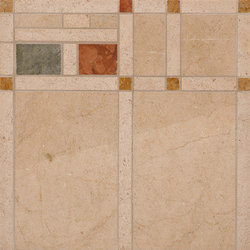 Marble Mosaics | Boogie Woogie Horns | Natural stone tiles | Tango Tile