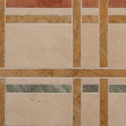 Marble Mosaics | New York Central Park Autumn | Dalles en pierre naturelle | Tango Tile