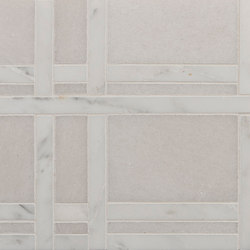 Marble Mosaics | New York Central Park Winter | Dalles en pierre naturelle | Tango Tile