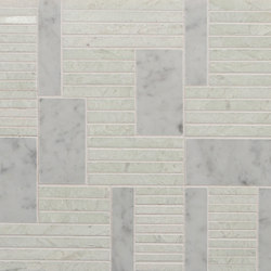 Marble Mosaics | Rhythm II Percussion | Natural stone tiles | Tango Tile