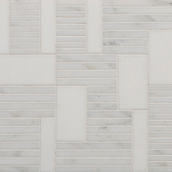 Marble Mosaics | Rhythm II All That Jazz | Natural stone tiles | Tango Tile