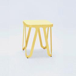 Loop Stool - lemon yellow   Taburetes   NEO/CRAFT