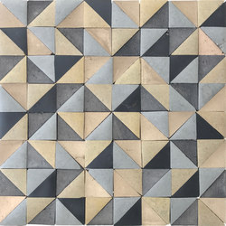 Rurale | Rurale Marble and Porcelain Mosaic in Khaki | Mosaicos | Tango Tile