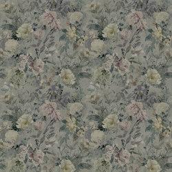 Jardin Des Plantes Fabrics | Marianne Lino - Slate | Vorhangstoffe | Designers Guild