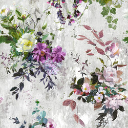 Jardin Des Plantes Fabrics | Aubriet - Amethyst | Tejidos para cortinas | Designers Guild
