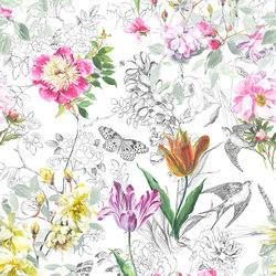 Jardin Des Plantes Fabrics | Sibylla - Fuchsia | Curtain fabrics | Designers Guild