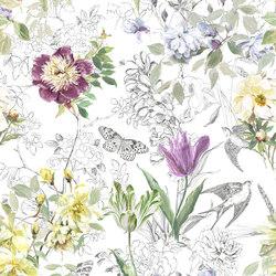 Jardin Des Plantes Fabrics | Sibylla - Amethyst | Tejidos para cortinas | Designers Guild