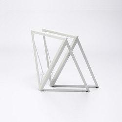 Steel Stand - silk grey | Tréteaux | NEO/CRAFT
