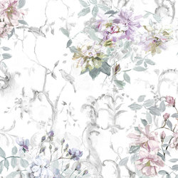 Jardin Des Plantes Fabrics | Saverne - Viola | Tessuti tende | Designers Guild