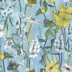 Jardin Des Plantes Fabrics | Masson - Azure | Vorhangstoffe | Designers Guild