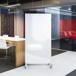 Confer Movable glassSCREENS | White boards | Carvart