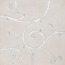 Flamboyant | Marble Tile in white | Minéral composite carrelage | Tango Tile
