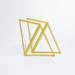 Steel - stand lemon yellow | Tréteaux | NEO/CRAFT