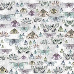 Jardin Des Plantes Fabrics | Charonda - Zinc | Tissus pour rideaux | Designers Guild