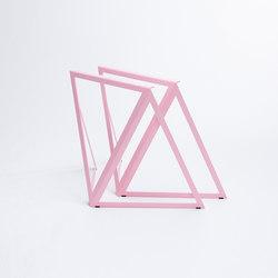 Steel - stand light pink | Cavalletti per tavoli | NEO/CRAFT
