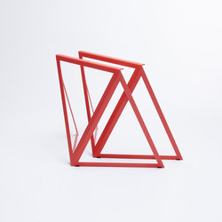 Steel Stand - coral red | Tréteaux | NEO/CRAFT