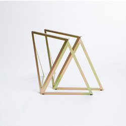 Steel Stand - gold galvanized | Caballetes de mesa | NEO/CRAFT