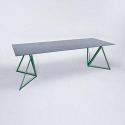 Steel Stand Table - moosgrün/ esche schwarz | Esstische | NEO/CRAFT