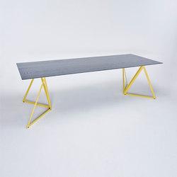 Steel Stand Table - zitronengelb/ esche schwarz | Esstische | NEO/CRAFT