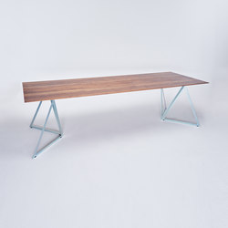 Steel Stand Table silver galvanized | Mesas comedor | NEO/CRAFT