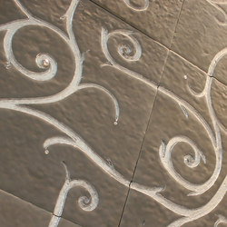 Flamboyant | Marble Tile in light grey | Minerale composito piastrelle | Tango Tile