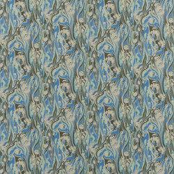 Jardin Des Plantes Fabrics | Delahaye - Cobalt | Tissus pour rideaux | Designers Guild