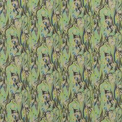Jardin Des Plantes Fabrics | Delahaye - Emerald | Tissus pour rideaux | Designers Guild