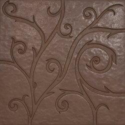 Flamboyant | Marble Tile in brown | Minerale composito piastrelle | Tango Tile
