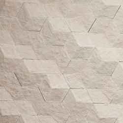 Hive | Chiseled Cream | Dalles en pierre naturelle | Tango Tile