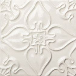 Pattern Tile White | Keramik Fliesen | Mambo Unlimited Ideas