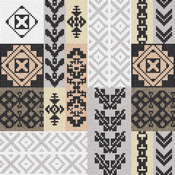 Decor Africa Now | Beige 15x15 | Glass mosaics | Mosaico+