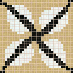 Decor Africa Now | Efua Beige 20x20 | Glass mosaics | Mosaico+