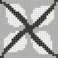 Decor Africa Now | Efua Grey 20x20 | Glass mosaics | Mosaico+