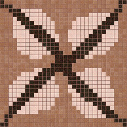 Decor Africa Now | Efua Pink 20x20 | Mosaïques | Mosaico+