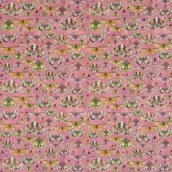 Jardin Des Plantes Fabrics | Issoria - Rose | Curtain fabrics | Designers Guild