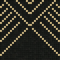 Decor Africa Now | Imani Beige 20x20 | Glass mosaics | Mosaico+