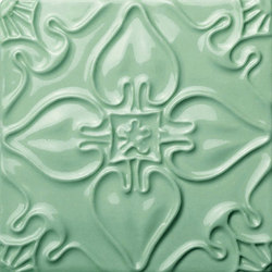 Pattern Tile Emerald | Piastrelle ceramica | Mambo Unlimited Ideas