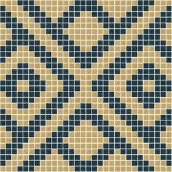 Decor Africa Now | Nok Blue 20x20 | Mosaïques verre | Mosaico+
