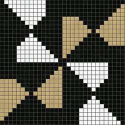 Decor Africa Now | Pinwheel Beige 20x20 | Glass mosaics | Mosaico+