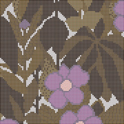 Decor Blooming | Little Ida Brown A 10x10 | Mosaïques | Mosaico+