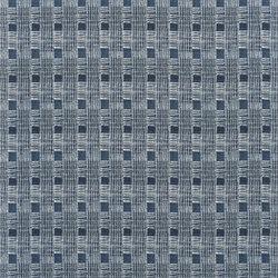 Rufolo Fabrics | Gradillo - Indigo | Tissus pour rideaux | Designers Guild