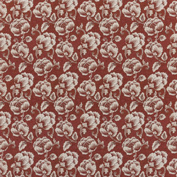 Rufolo Fabrics | Marmorata - Russet | Curtain fabrics | Designers Guild