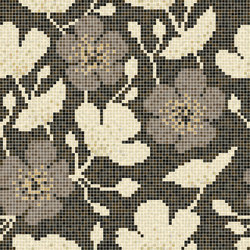 Decor Blooming | Sakura Beige 15x15 | Glass mosaics | Mosaico+