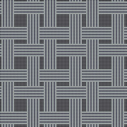Decor Geometric | Hemp Black 10x10 | Mosaïques | Mosaico+